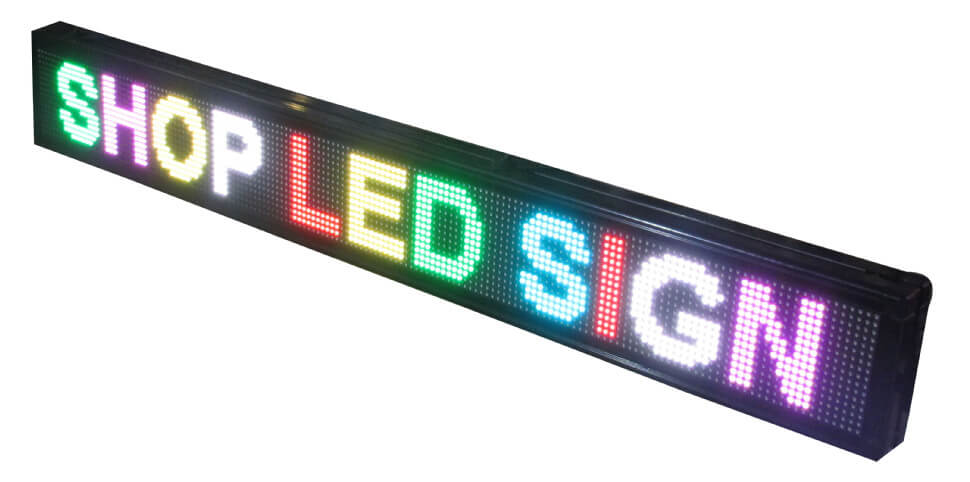LED Displej - RGB - Colour